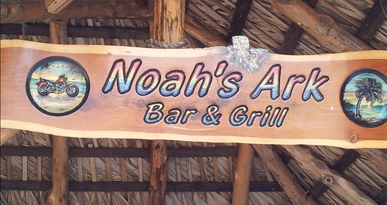 Welcome to Noah's Ark Bar & Grill!